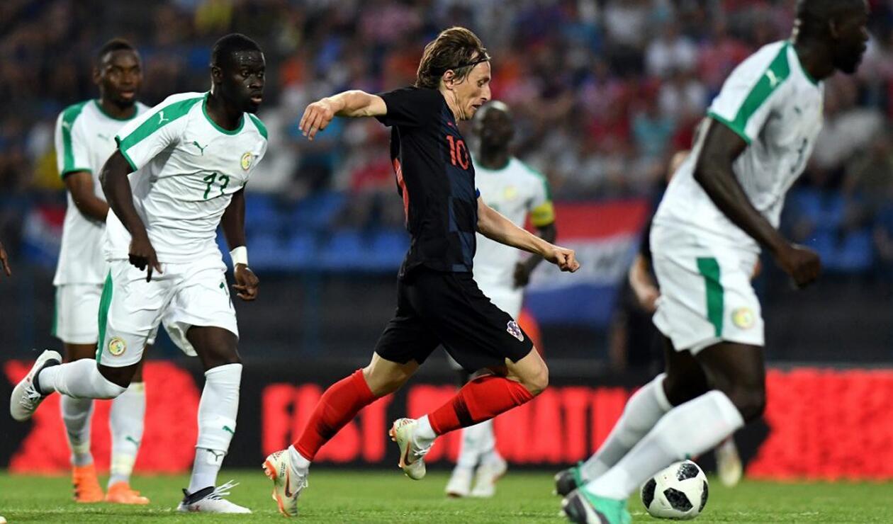 Senegal y Croacia amistoso