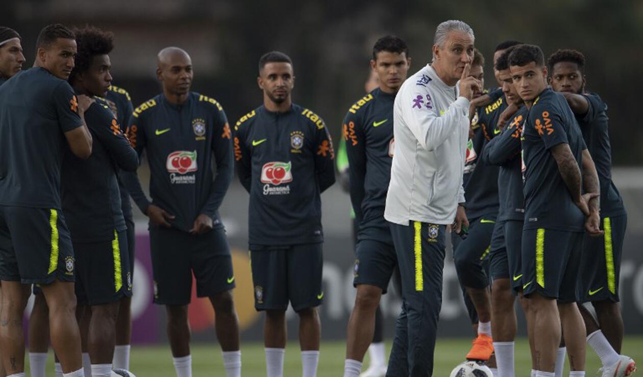 Tite y la Selección de Brasil previo al Mundial