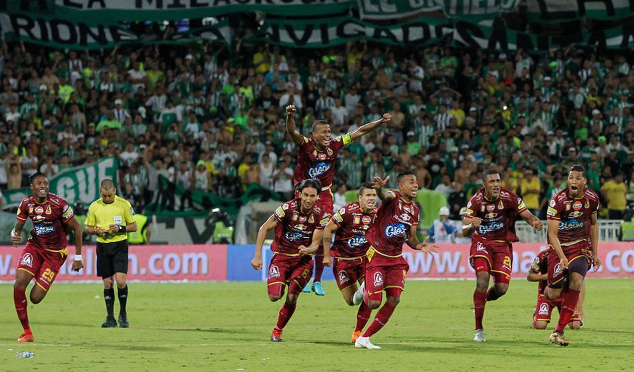 Deportes Tolima en la final de la Liga Águila