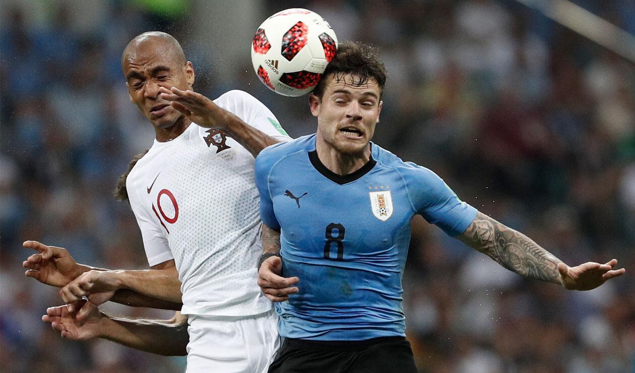 Uruguay clasificó a los cuartos de final del Mundial Rusia 2018, tras dejar en el camino a Portugal