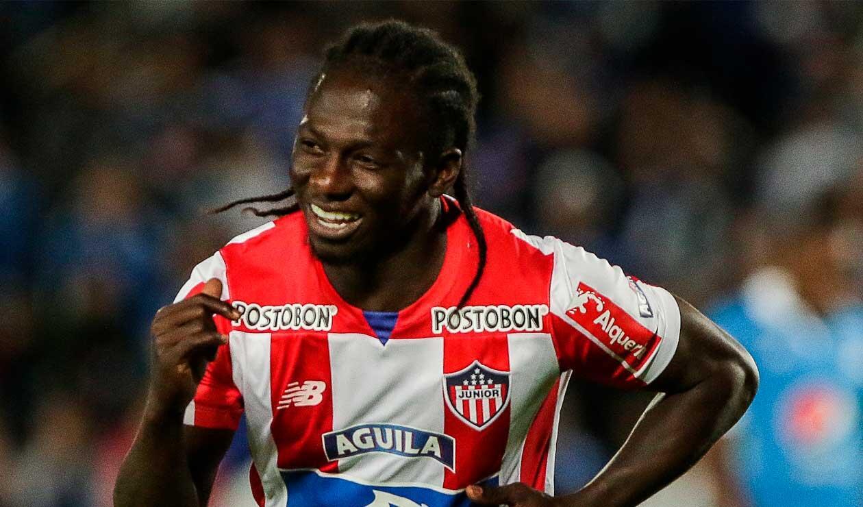 Yimmi Chará se va del Junior y llega al Atlético Mineiro de Brasil