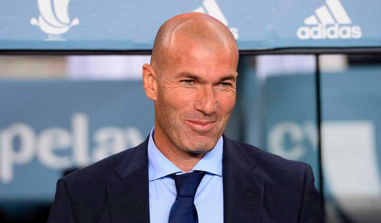 Zinedine Zidane, extécnico del Real Madrid y ganador de tres Champions League