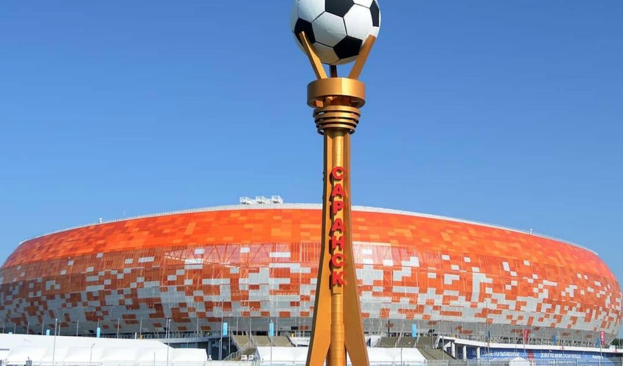 El estadio de Saransk