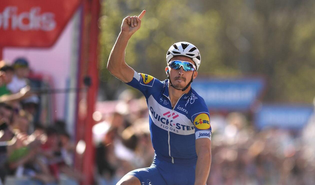 Alaphilippe se llevó la tercera etapa del Tour de Francia