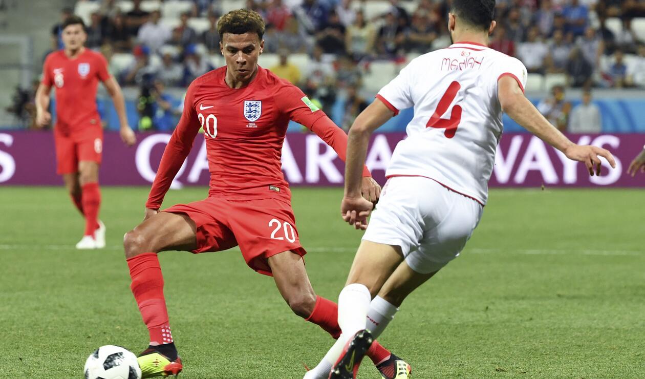 Dele Alli fue uno de los mejores de Inglaterra ante Túnez