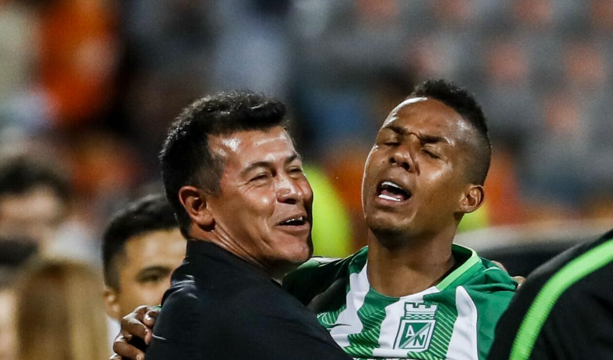 Jorge Almirón renunció a Atlético Nacional