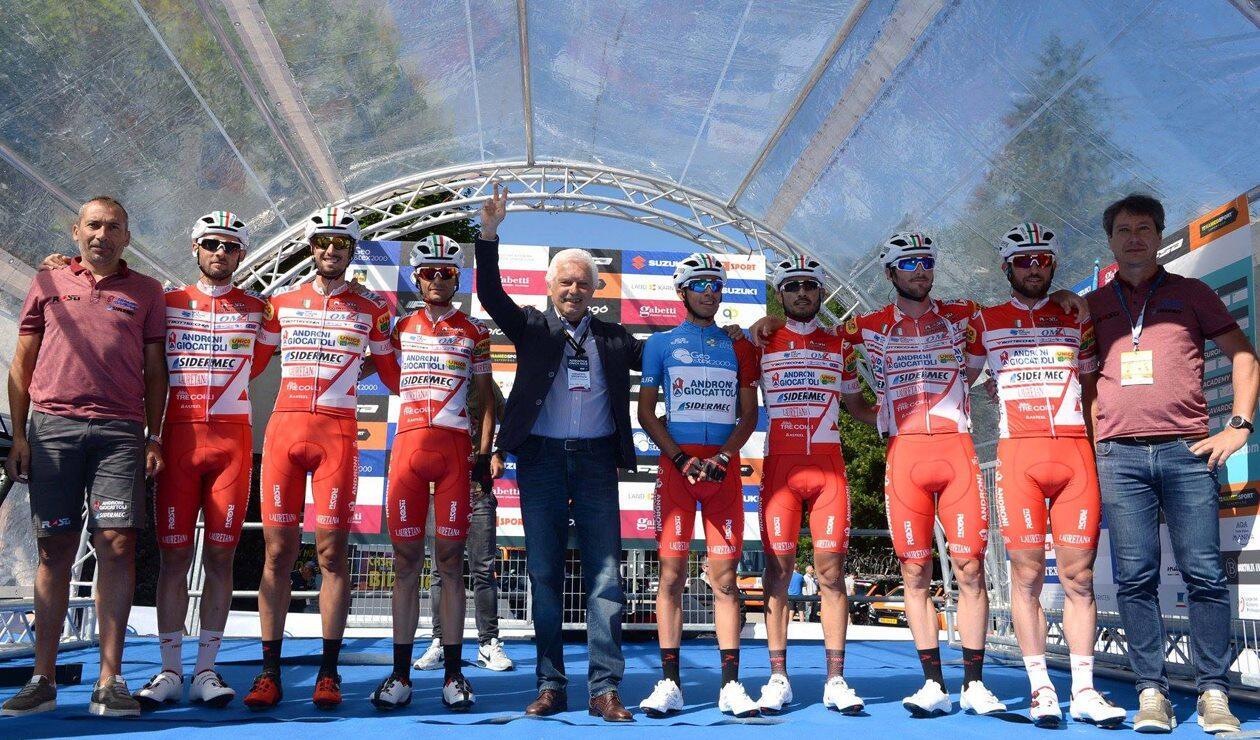 Iván Sosa continúa líder de la Adriatica Ionica Race