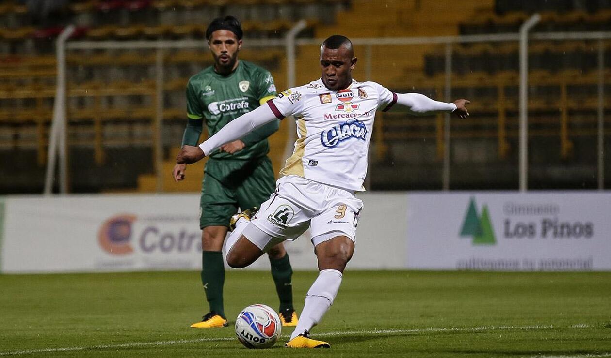 Ángelo Rodríguez, jugador del Deportes Tolima