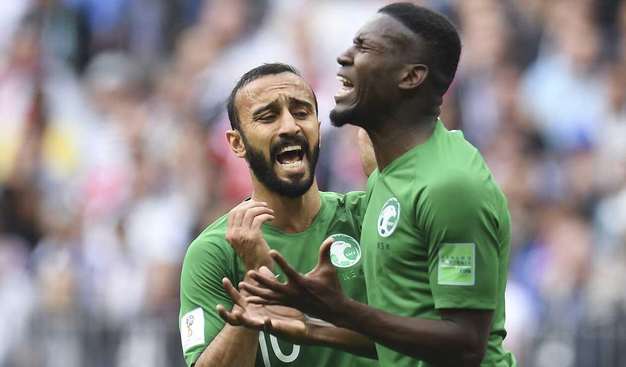 Arabia Saudí tuvo un pésimo debut en Rusia 2018