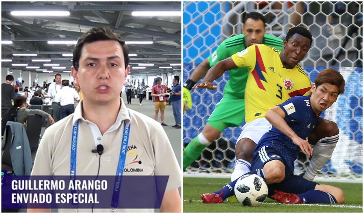 Guillermo Arango analizó la derrota de Colombia ante Japón