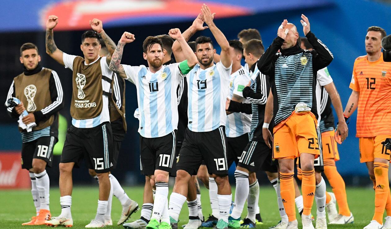 Argentina clasificó a los octavos de final del Mundial