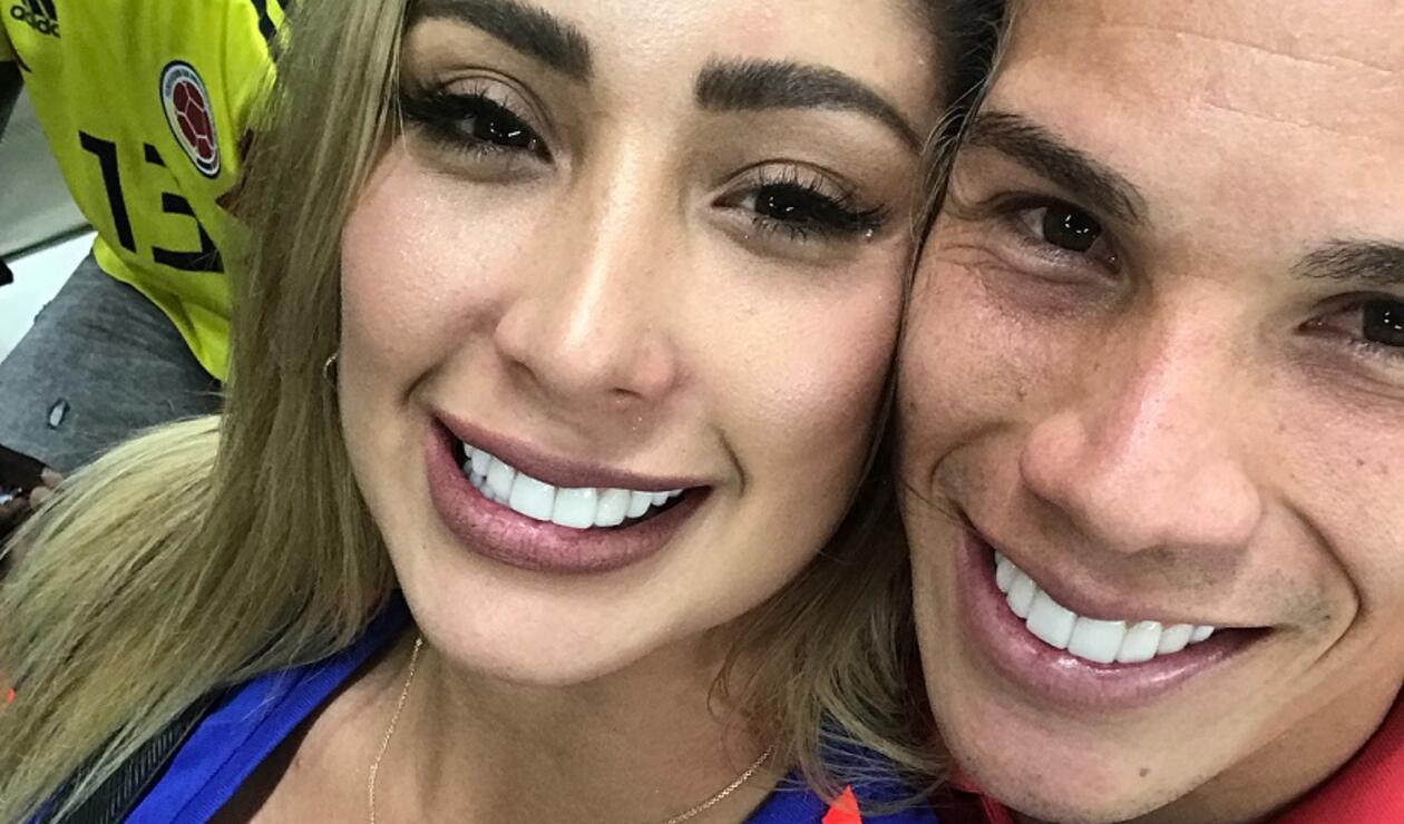 Cindy Álvarez y Matheus Uribe