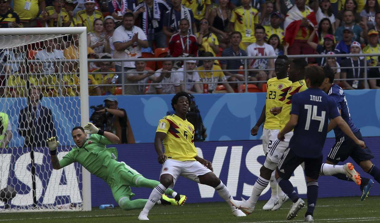 Colombia cayó ante Japón en su debut en el Mundial