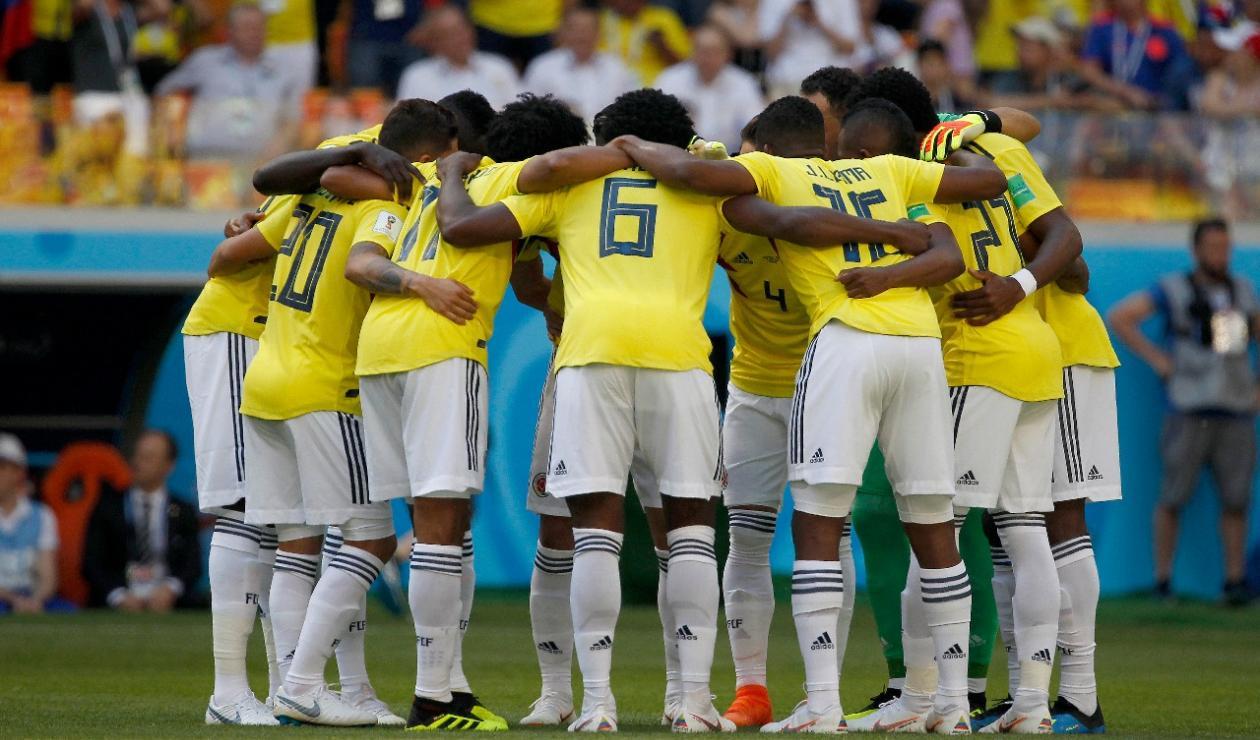 Selección Colombia vs Japón en el Mundial de Rusia 2018