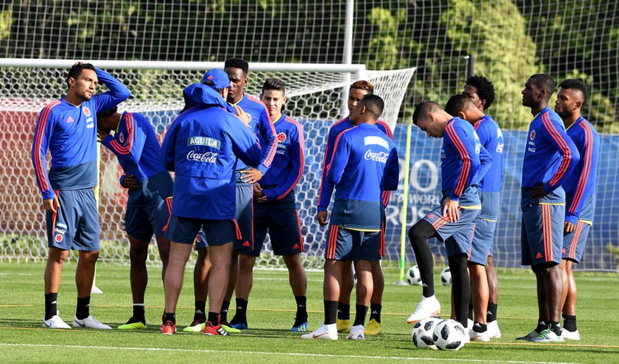 La Selección Colombia no contó con Miguel Borja en el último entrenamiento