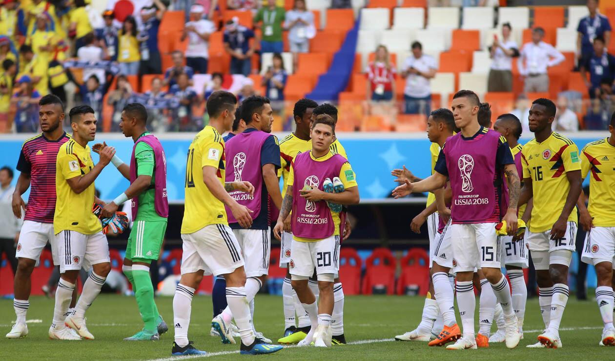 Jugadores de Colombia Mundial Rusia 2018