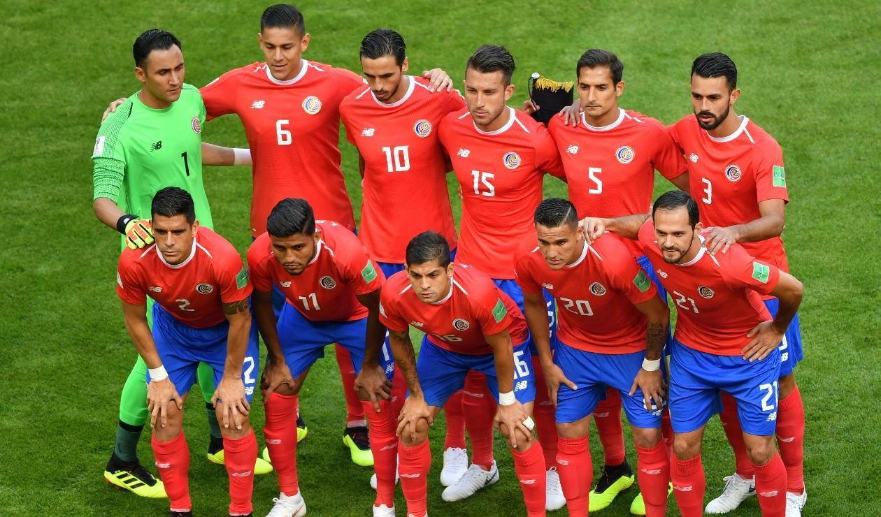Costa Rica en la Copa del Mundo Rusia 2018