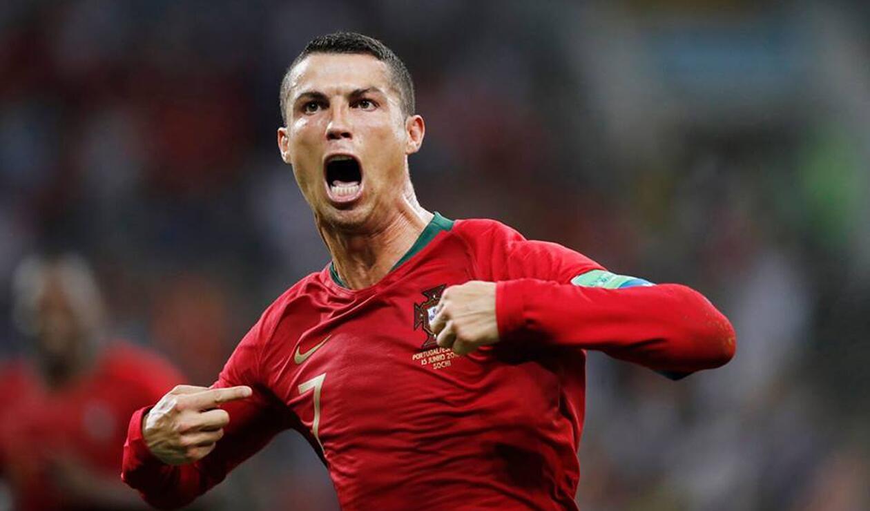 Cristiano Ronaldo delantero Portugal