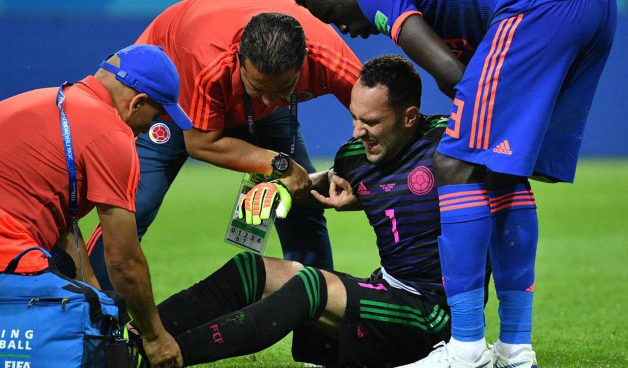 David Ospina, lesionado en la Selección Colombia