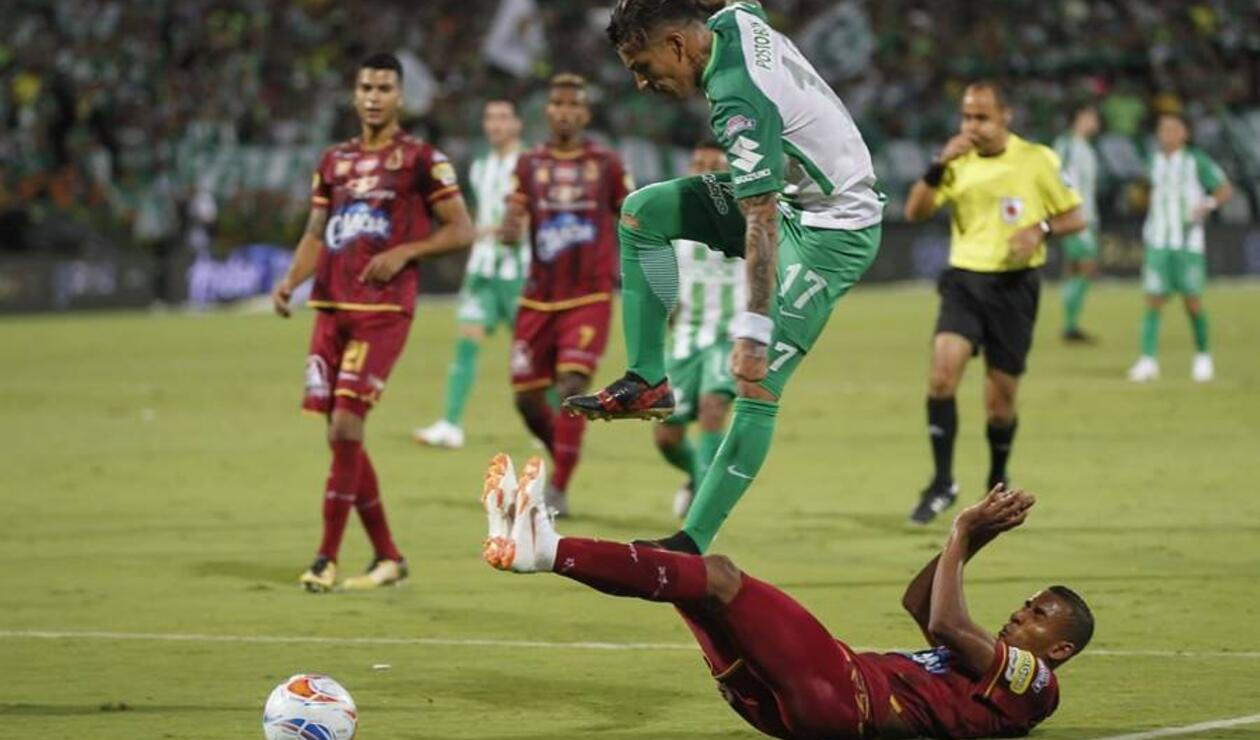 Tolima Campeón Liga Águila venciendo a Atlético Nacional