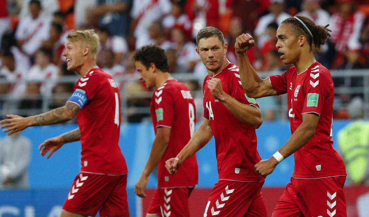 Dinamarca fue inferior a Perú, pero venció