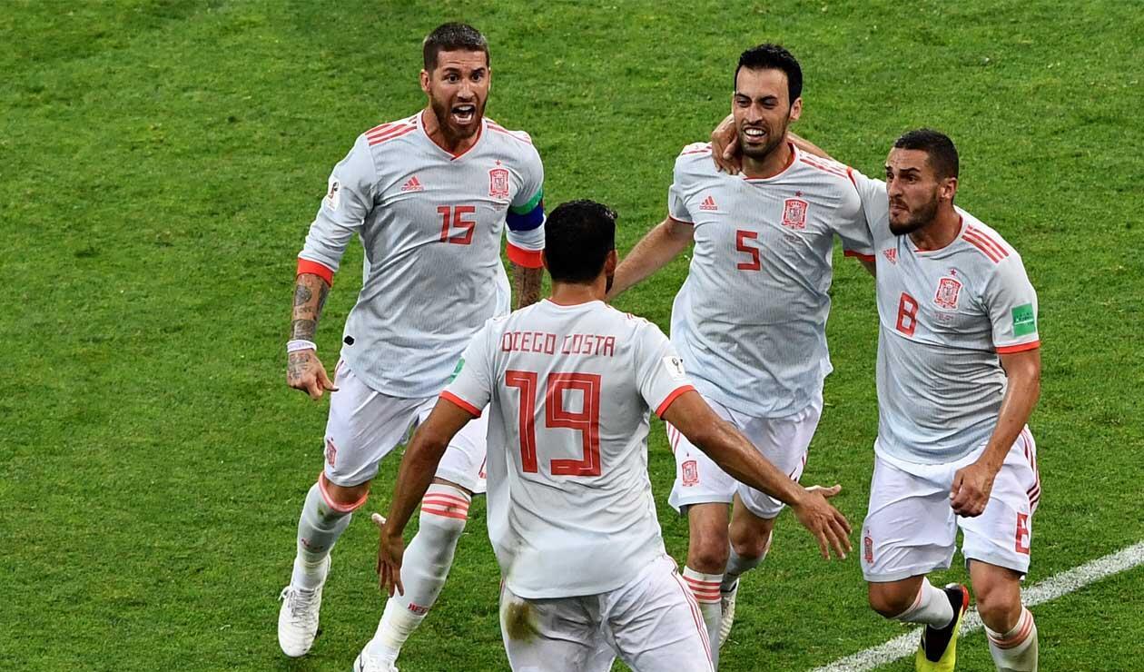 España igualó ante Portugal en el debut de Rusia 2018