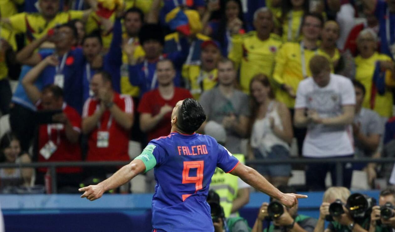 Falcao grita su primer gol en una Copa del Mundo