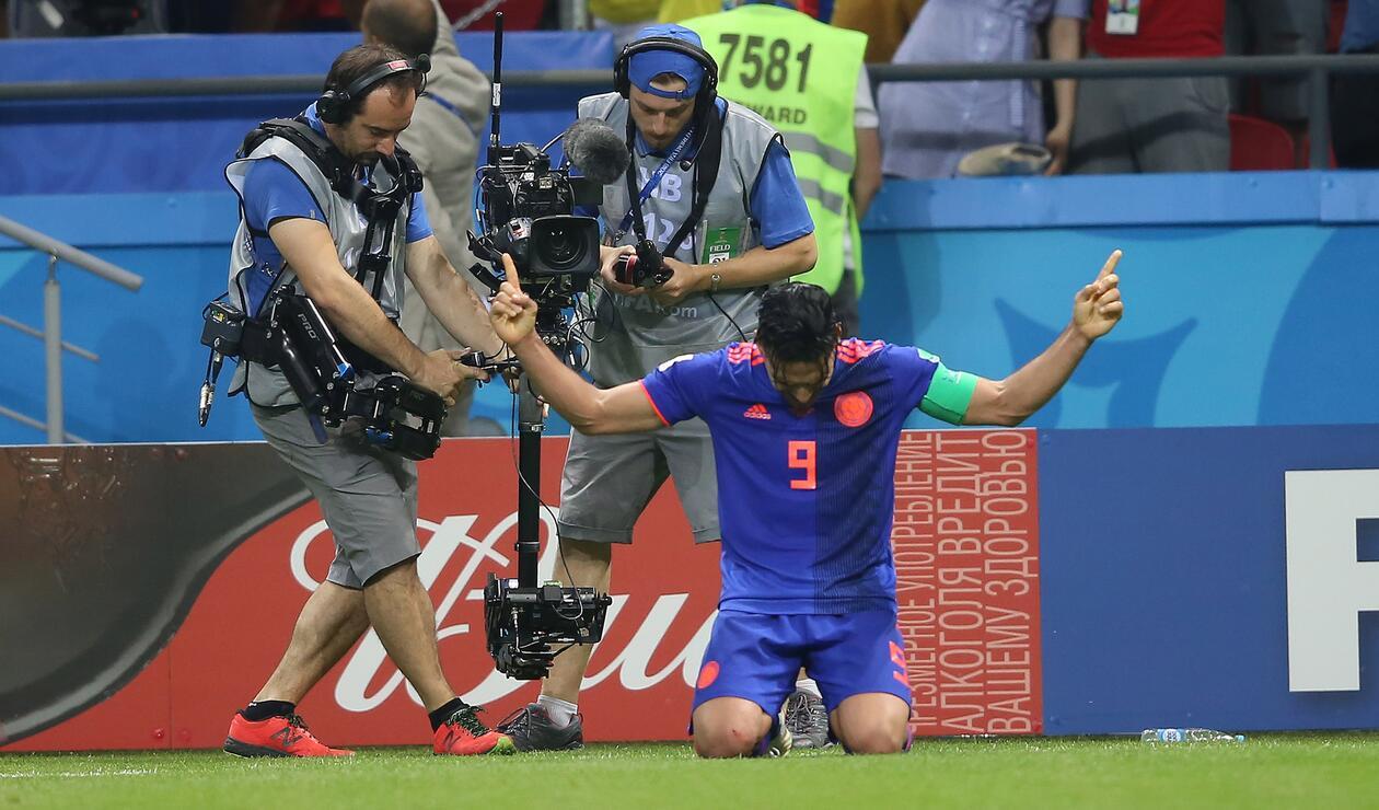 Falcao, una de las figuras del Polonia vs Colombia