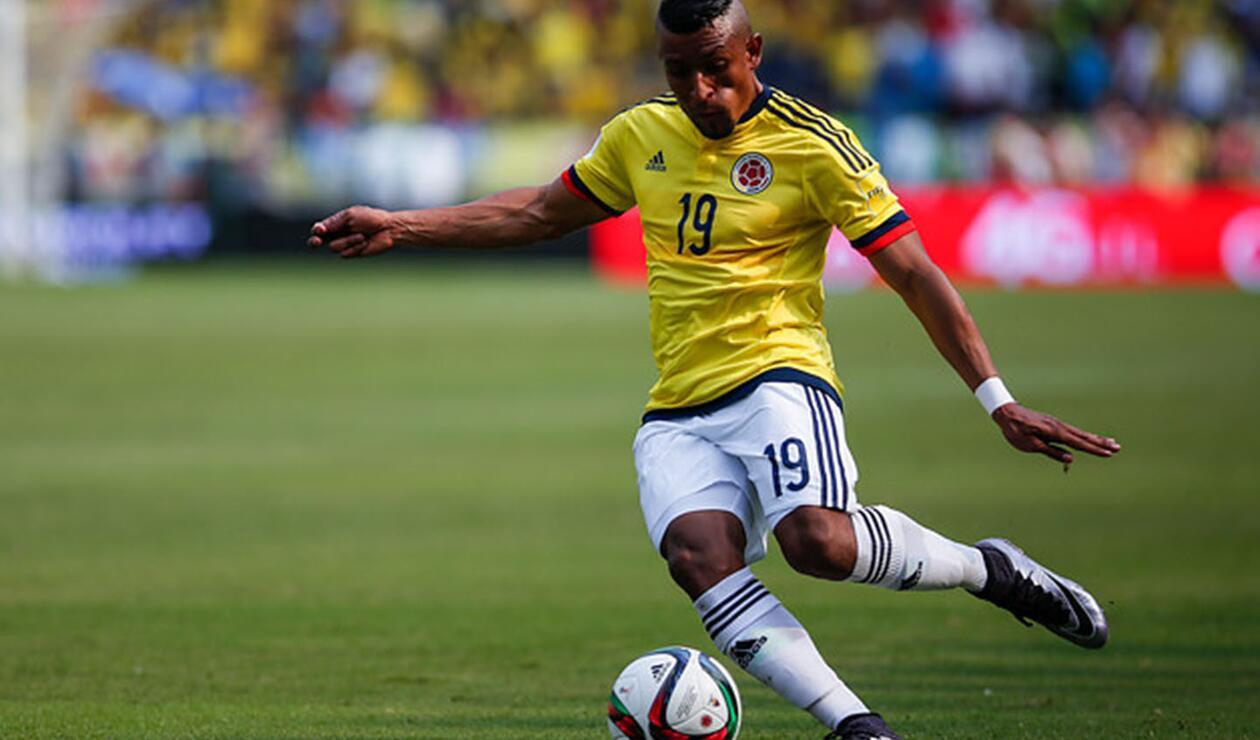 Farid Díaz con la Selección Colombia