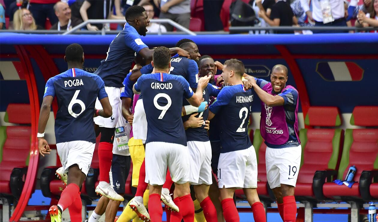 Francia alcanzó un notable triunfo sobre Argentina en Rusia 2018