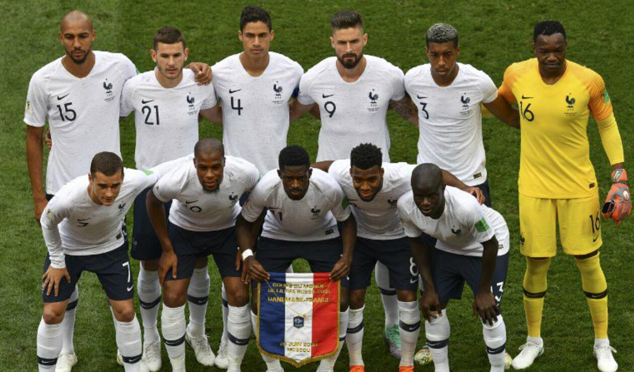 Francia Dinamarca Rusia 2018