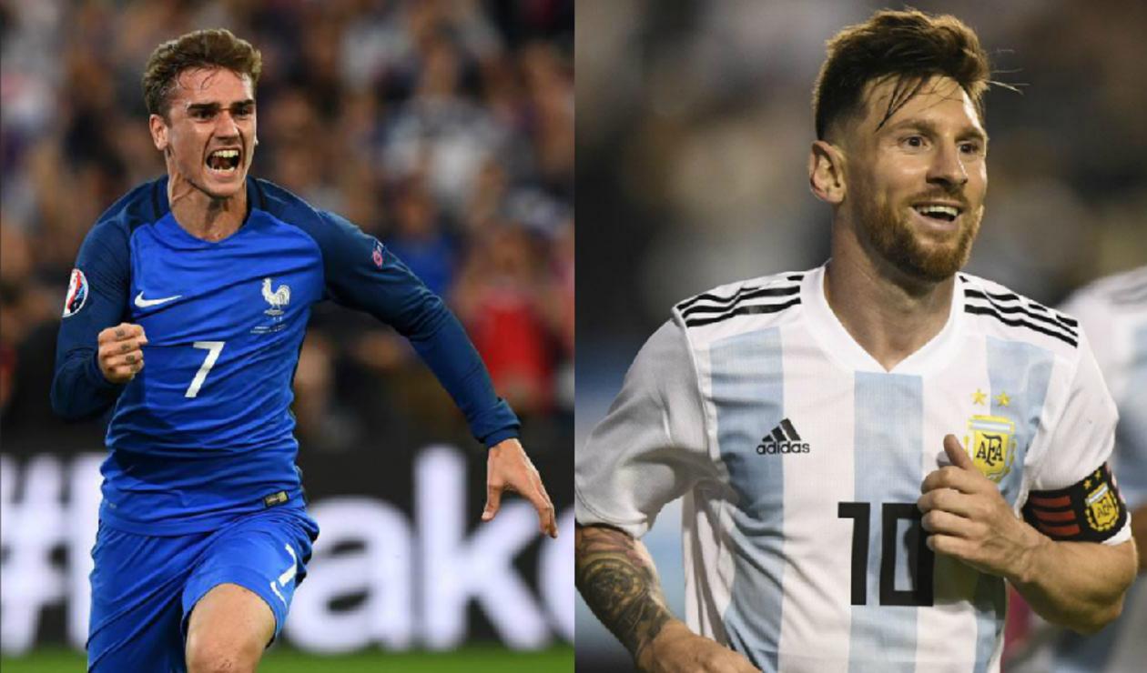 Resultado de imagen para francia gana a argentina 4-2