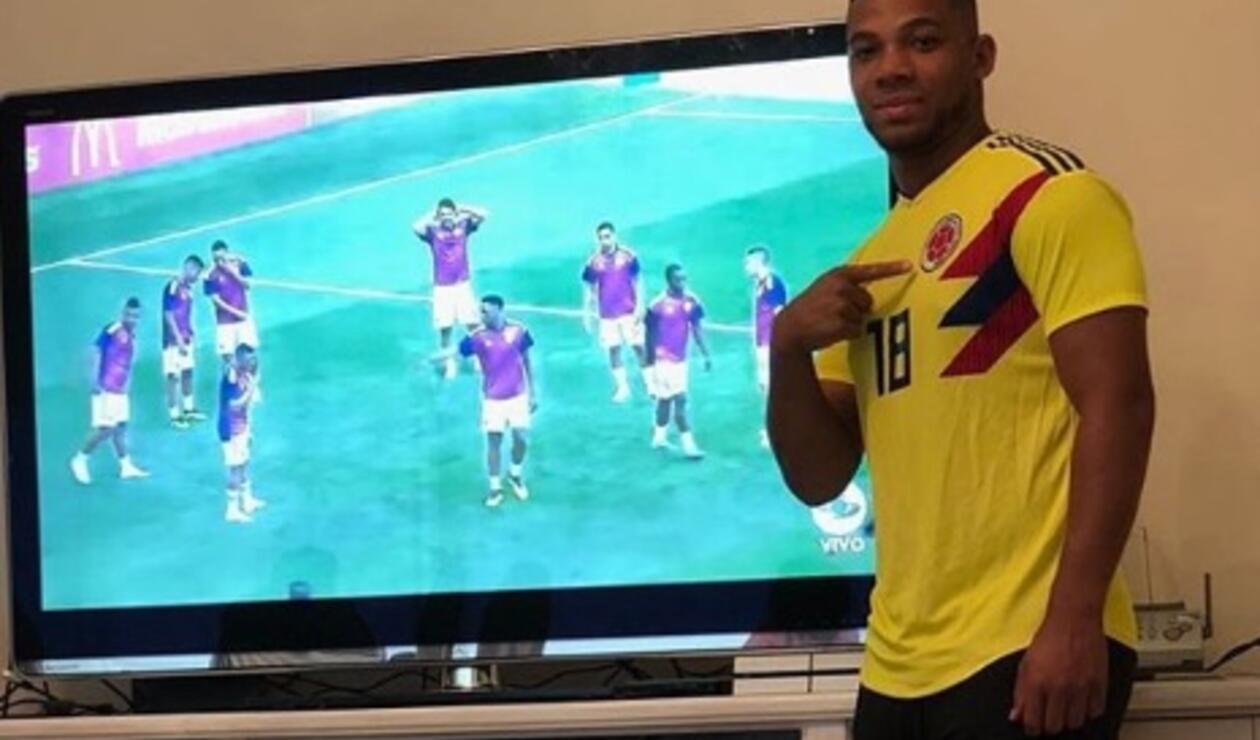El lateral de Colombia que se perdió el Mundial