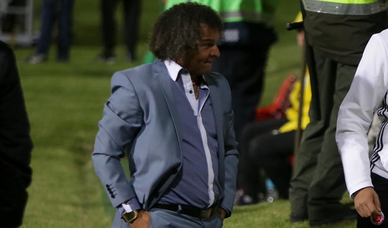 Alberto Gamero, campeón de la Liga Águila con el Deportes Tolima