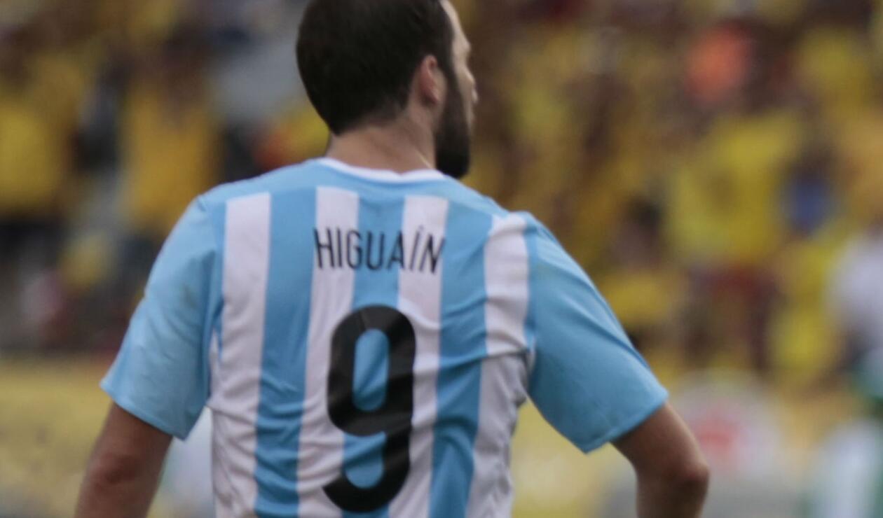 Gonzalo Higuaín, delantero argentino