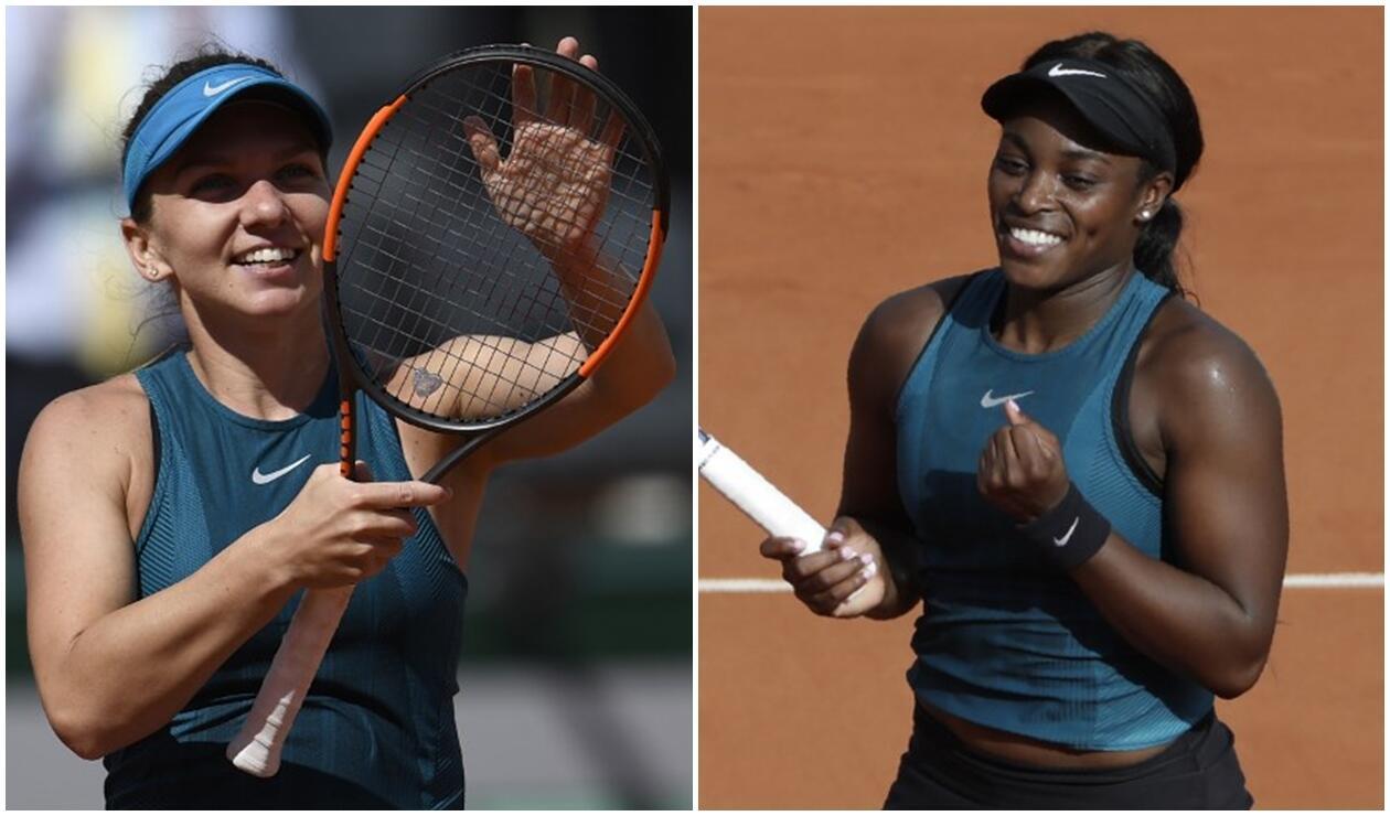 Halep y Stephens se enfrentarán en la final del Roland Garros