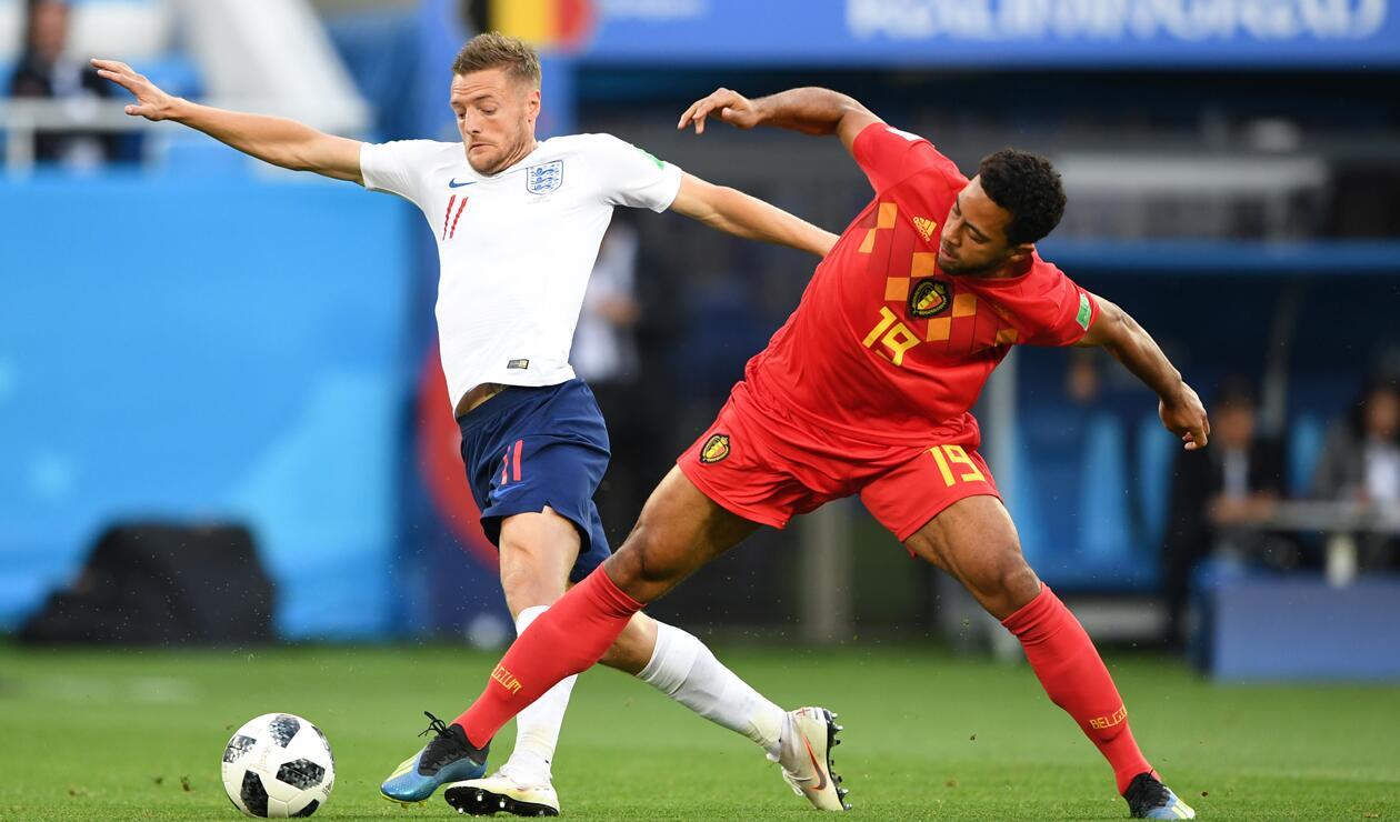 Inglaterra vs Bélgica - Grupo G