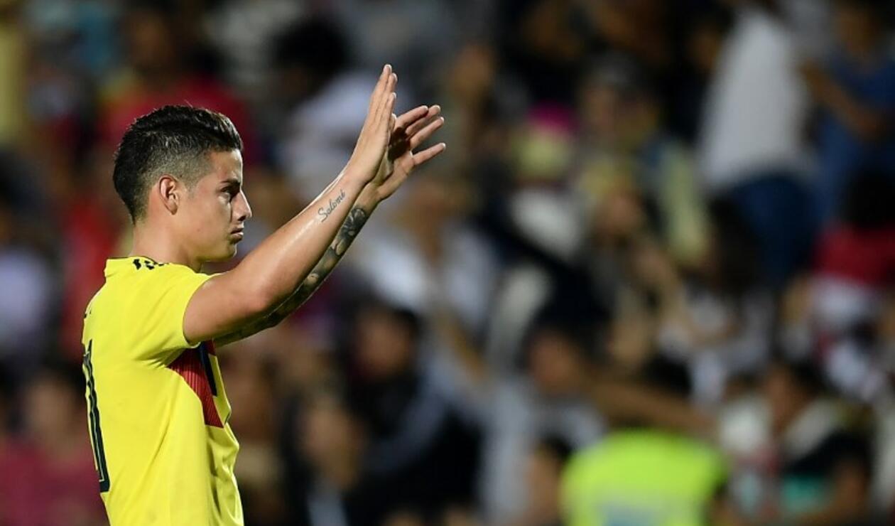 James Rodríguez, futbolista de la Selección Colombia