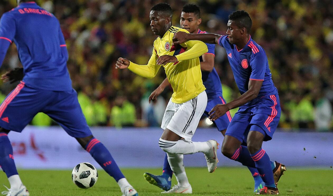 Jefferson Lerma volante Selección Colombia