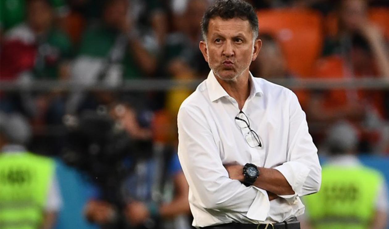Juan Carlos Osorio, DT de la Selección mexicana
