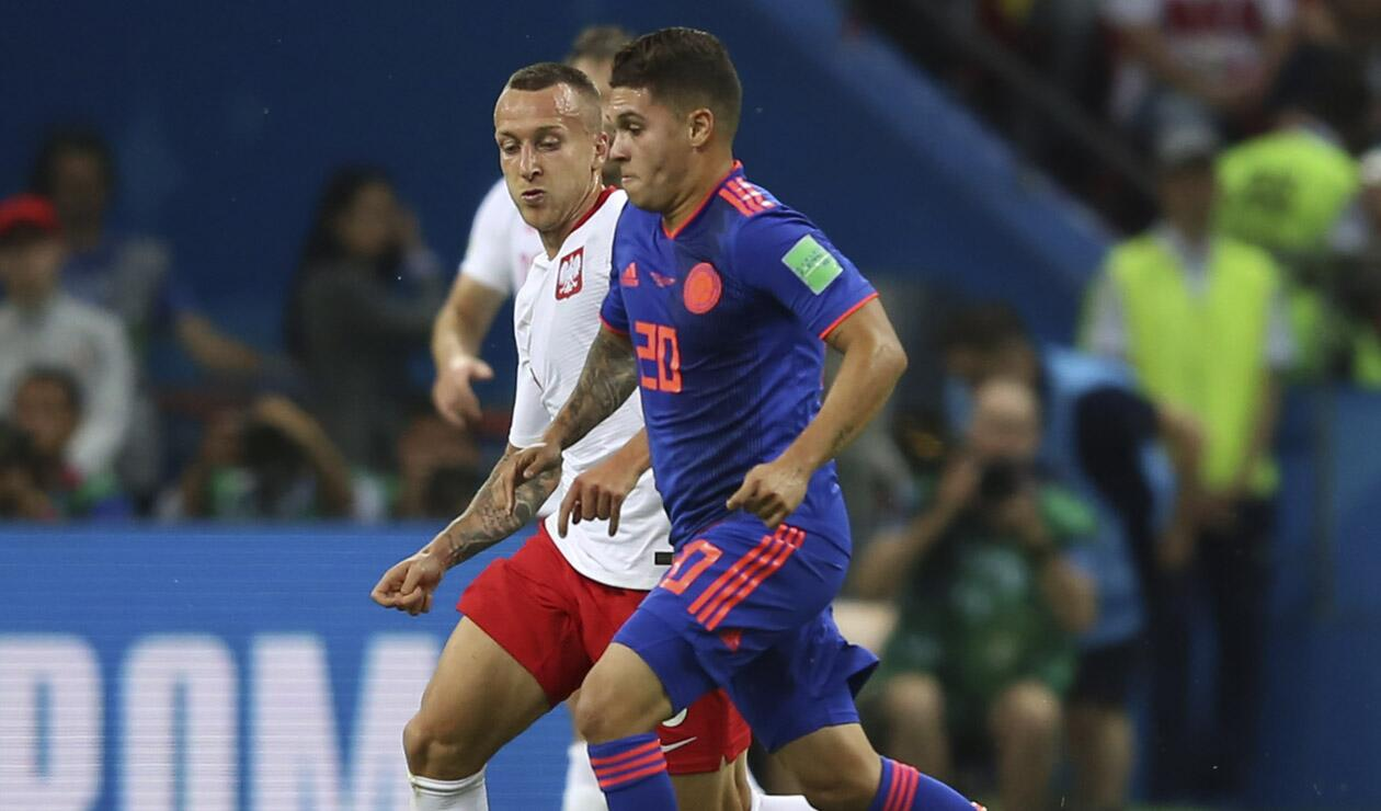 Juan Fernando Quintero, jugador de la Selección Colombia