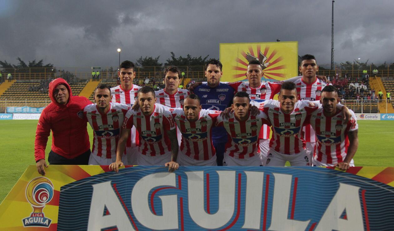 Jugadores del Junior de Barranquilla
