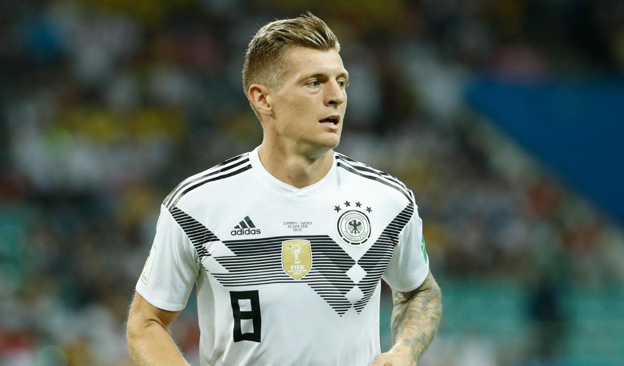 Toni Kroos, jugador de Alemania