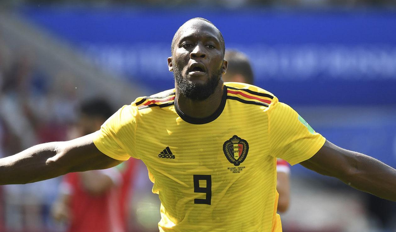 Romelu Lukaku fue la figura de Bélgica ante Túnez