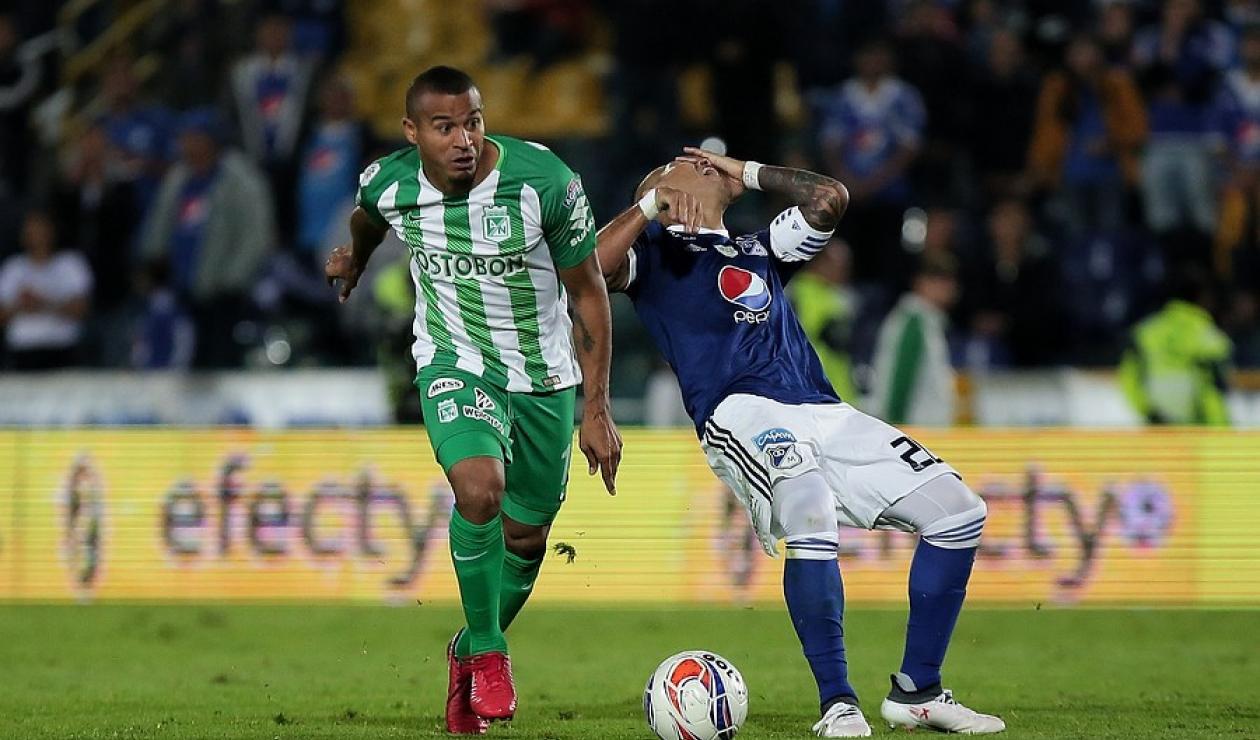 Macnelly Torres, una de las figuras de Atlético Nacional