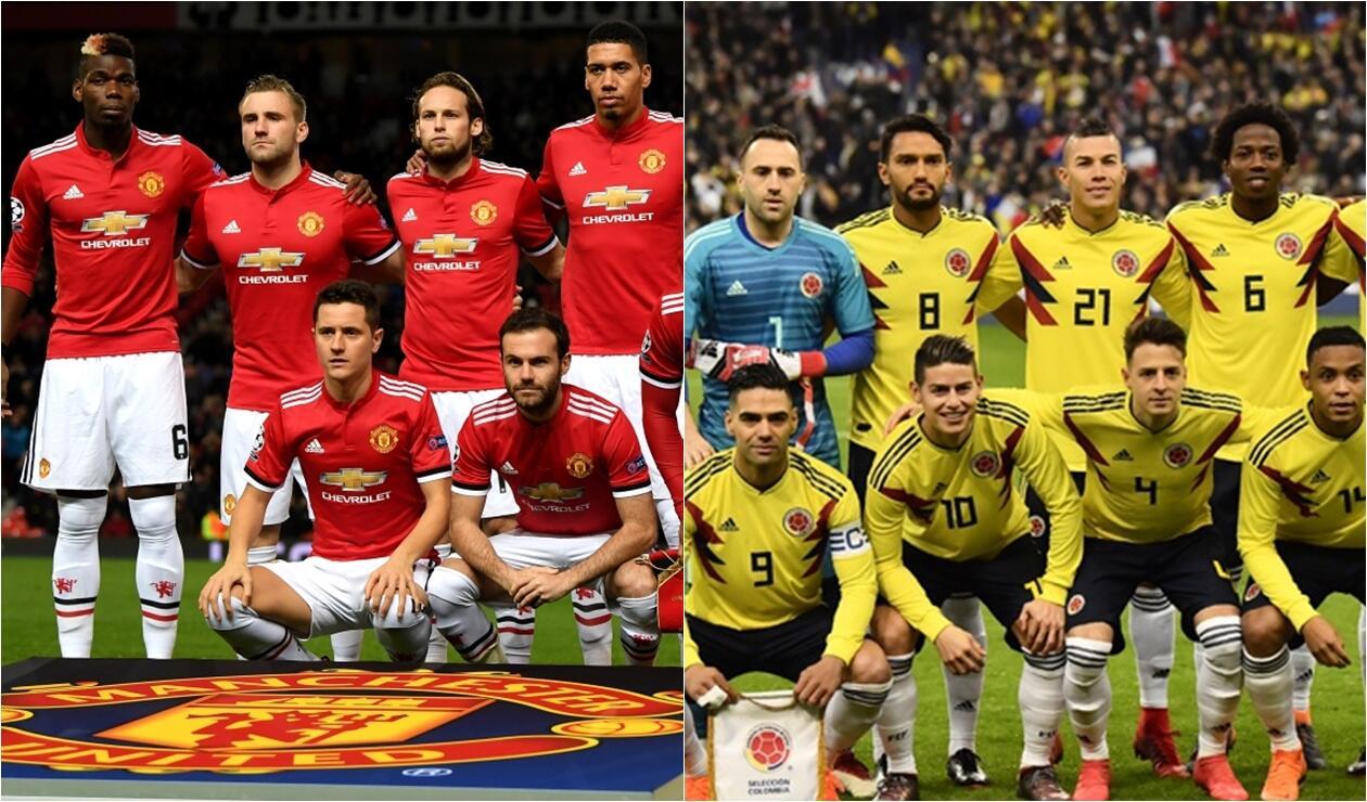 La estrella del Manchester United que le deseo buena suerte a la Selección Colombia