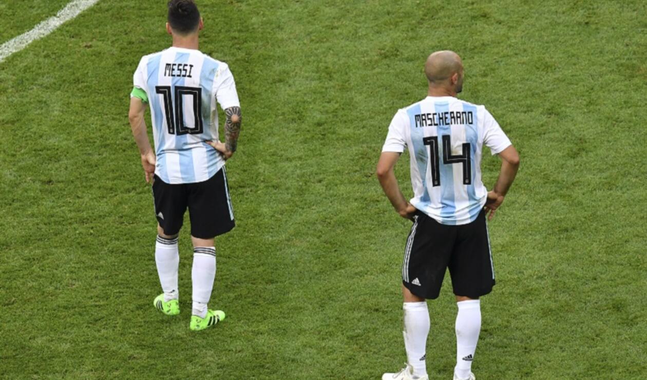 Messi y Mascherano
