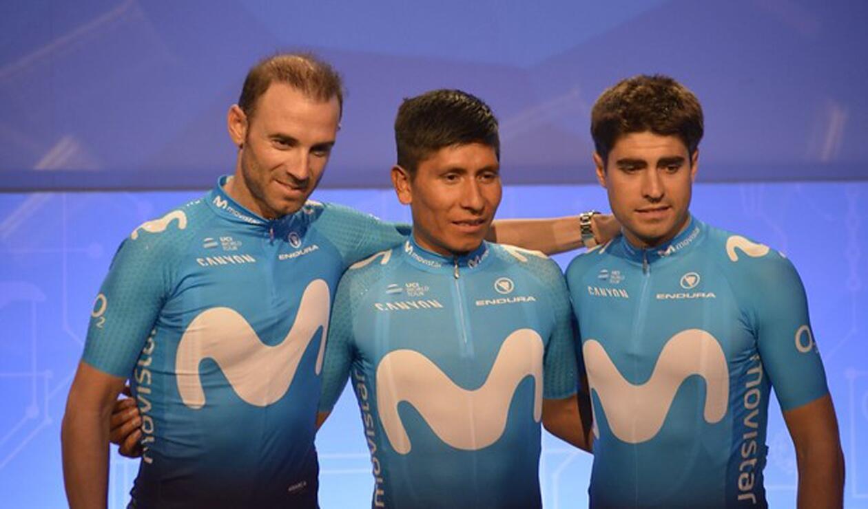 Quintana, Valverde y Landa serán los líderes del Movistar