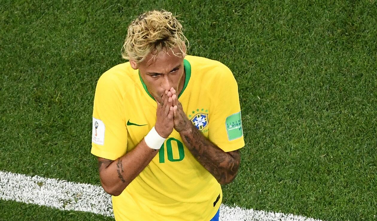 Neymar tuvo un opaco debut en Rusia
