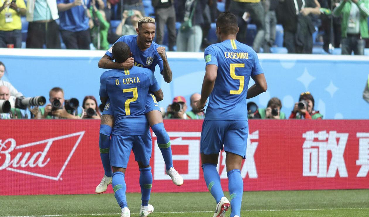 Brasil alcanzó un agónico triunfo sobre Costa Rica en Rusia 2018
